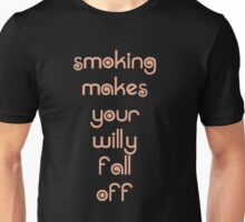 Smoking For Boys Unisex T-Shirt