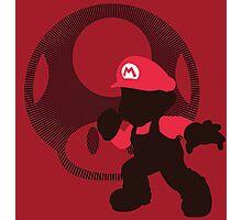Mario (Mario Version) - Sunset Shores Photographic Print