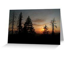 Sunset at Sunset Greeting Card