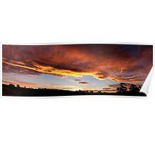 Sunset in Wilmot Poster