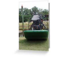 Airboat Greeting Card