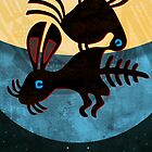 Eagle Devouring Rabbit by Sena