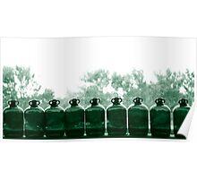 nine green bottles Poster