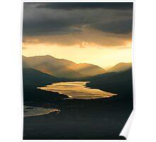 Sunset on Loch Eil Poster