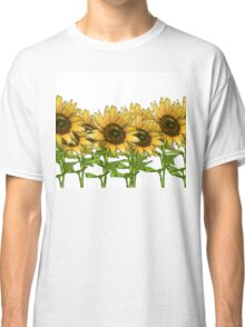 Sunflowers White Classic T-Shirt