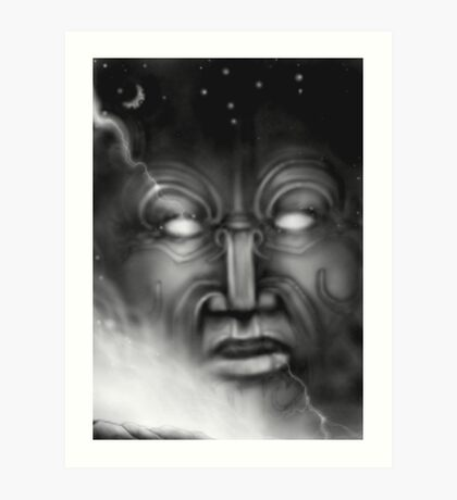 Ranginui-sky god Art Print