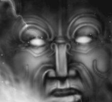 Ranginui-sky god by Rangi Matthews