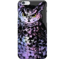 Starry Owl iPhone Case/Skin