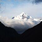 Snow capped Peak. by Honor Kyne