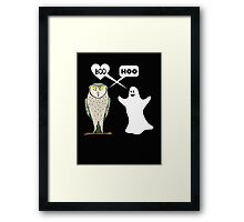 Ghostly valentine Framed Print
