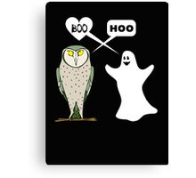 Ghostly valentine Canvas Print