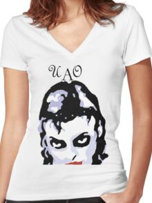 unique and original Women's Fitted V-Neck T-Shirt