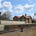 Mount Barker Railway Station by LeeoPhotography