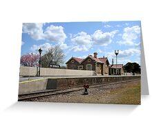 Mount Barker Railway Station Greeting Card