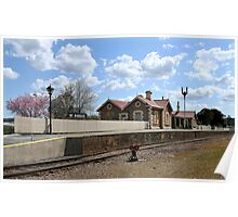 Mount Barker Railway Station Poster