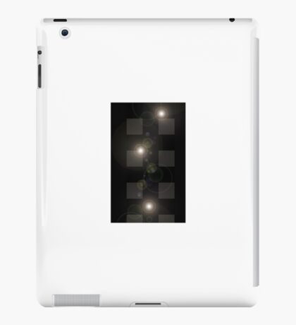 MoveOnArt! LightsCameraAction abstract by Artist Musician Jacob Kane Kanduch -- OmNEtra iPad Case/Skin