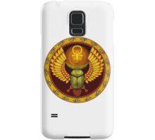 Symbol of the god the sacred solar bug Samsung Galaxy Case/Skin