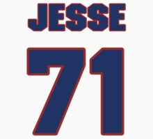 National football player Jesse Turnbow jersey 71 by imsport