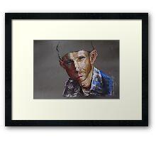 Portrait in Pastel Framed Print