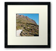 Cradle Trail Framed Print