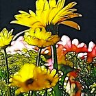 Yellow Bouquet by Francine Dufour Jones