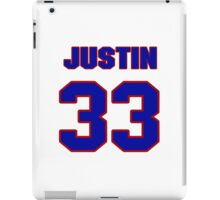 National football player Justin Rowland jersey 33 iPad Case/Skin