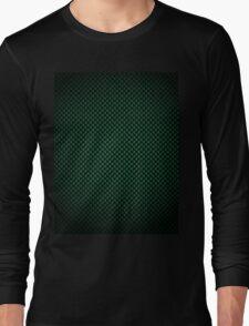 Green Carbon Fibre iPhone / Samsung Galaxy Case Long Sleeve T-Shirt