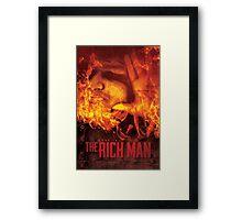 The Rich Man Framed Print