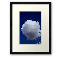 Cotton Wool Cloud Framed Print