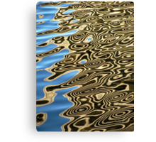 Water Reflection 2 Canvas Print