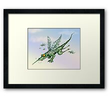 Crocsquito Framed Print