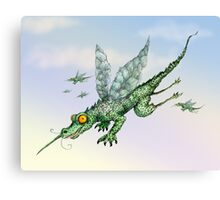 Crocsquito Canvas Print