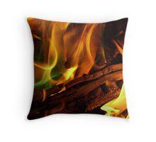 Magical Flames Throw Pillow