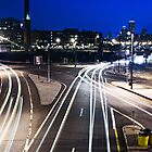Boston light trails by Dan Squires