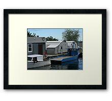 Superior boat Framed Print