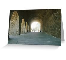 Fort in Crete Greeting Card