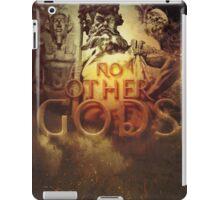 Commandment 1 - No Other Gods iPad Case/Skin