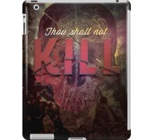 Commandment 6 - Thou Shalt Not Kill iPad Case/Skin