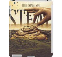 Commandment 8 - Thou Shalt Not Steal iPad Case/Skin