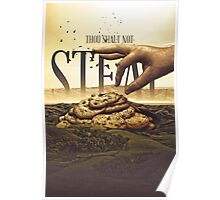 Commandment 8 - Thou Shalt Not Steal Poster