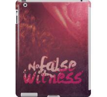 Commandment 9 - No False Witness iPad Case/Skin