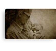 The Filling Of Our Hearts Canvas Print