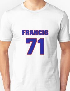 National football player Francis Peay jersey 71 T-Shirt