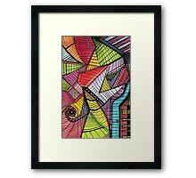 vectorial design 1 Framed Print
