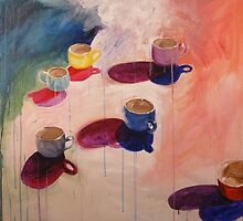 Teacups by Libby Yee