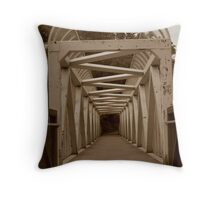 One Side to the Other. Throw Pillow