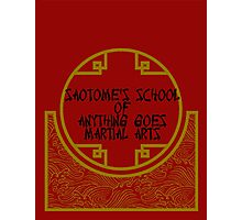 Anything Goes Martial Arts Photographic Print