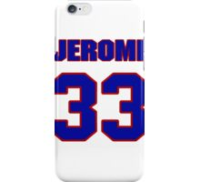 National football player Jerome King jersey 33 iPhone Case/Skin