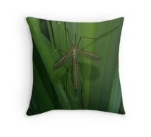 Holding On To Green Throw Pillow