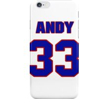 National football player Andy Reid jersey 33 iPhone Case/Skin